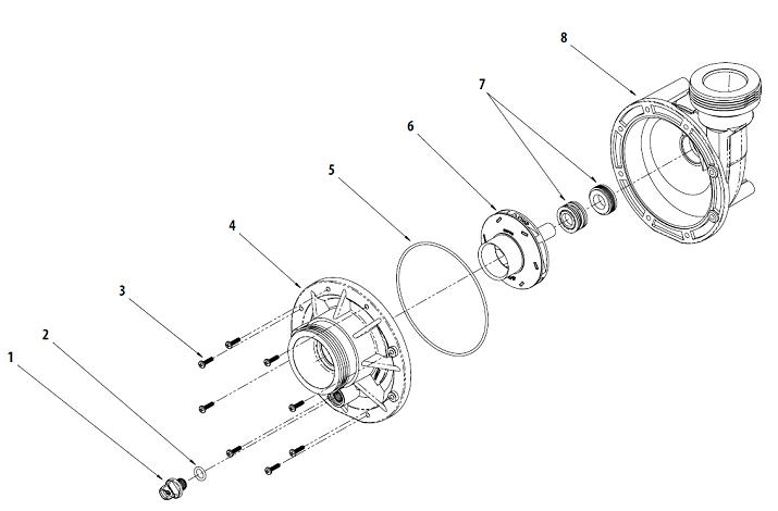 waterway pump parts schematics  waterway  get free image