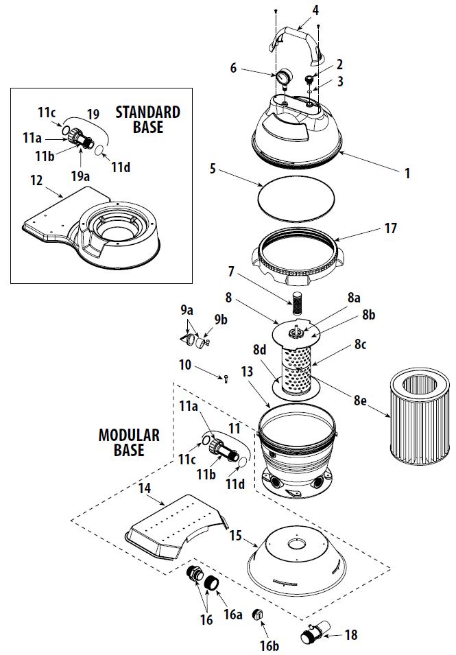 waterway 56 pump parts manual